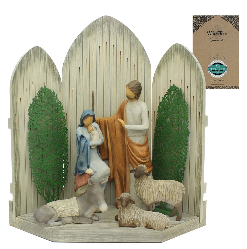 Maven Gifts: Willow Tree - The Christmas Story Nativity Set - By ...