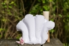 Inflatable Terry Cloth Bath Pillow