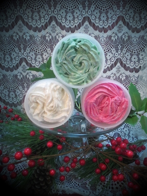 Christmas Time - Whipped Bath Soap