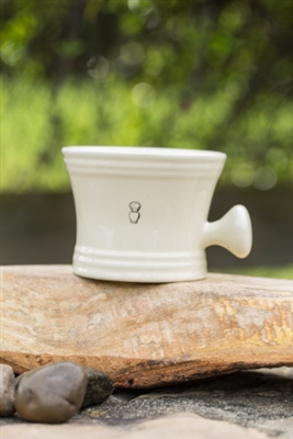 Porcelain Shaving Mug