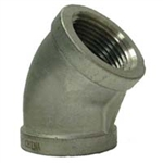 STAINLESS STEEL 45 DEGREE ELBOW