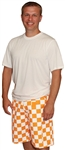 Tennessee Vols Orange & White Checkered Cargo Shorts