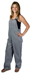 Black & White Adult Houndstooth Game Bib Overalls