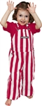 Crimson & White Toddler Game Bib Overalls
