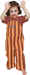 Maroon & Orange Toddler Game Bibs
