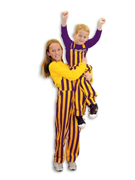 Game Bibs (Youth): Purple and Yellow (Gold)