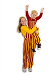Garnet & Gold Youth Game Bib Overalls