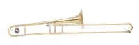 John Packer Bb Tenor Trombone - gold lacquer
