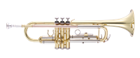 John Packer Bb Trumpet - lacquer