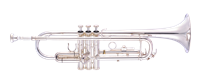John Packer Bb Trumpet - silver