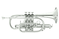 John Packer Bb Cornet - silver