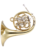 John Packer Bb Kinder French Horn- gold lacquer