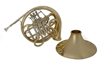 John Packer Bb/F Double French Horn - JP Rath - detachable bell - lacquer