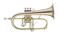 John Packer Flugel Horn - Smith-Watkins -  lacquer