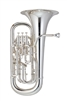 John Packer Euphonium - JP Sterling - with trigger - silver