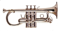 Smith Watkins Eb Cornet - Soloist w/case