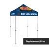 5 ft Canopy Tent - Replacement Print