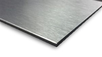 Aluminum Composite Panel - Brush Aluminum Silver