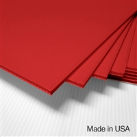 IntePro Corrugated Plastic - Red