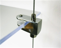 Cable Display Systems: Single-Sided Clamp - 6 pcs