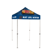 5FT Pop Up Canopy Tent With Print