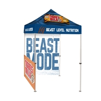 5FT Pop Up Canopy Tent Back Wall and 1x Sidewall with Print