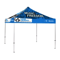 10'x10' Pop Up Canopy Tent with Print