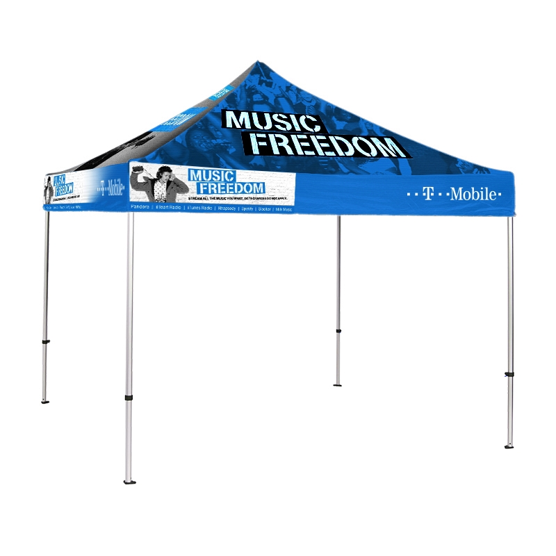 Pop Up Canopy Tent >> Pop Up Canopy Event Tent With Custom Print 10 X10