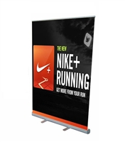 "Retractable Roll Up Banner Stand 57"" Stand Only"