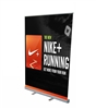 "Retractable Roll Up Banner Stand 57"" with Vinyl Print"