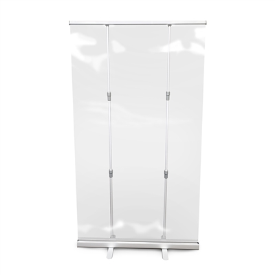"Roll Up Clear Sneeze Guard 45"" W X 78"" H"