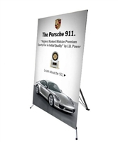 "Large X Banner Stand 48"" x 78"" - Stand Only"