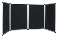 4 Panel Table Top Display