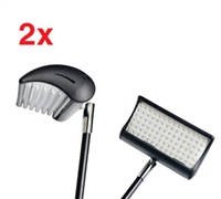 LED Light for Fabric Pop Up Display - 2 Lights