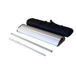 "Premium Retractable Roll Up Banner Stand 33"" - Stand Only BOX SET [QTY:4 PCS]"