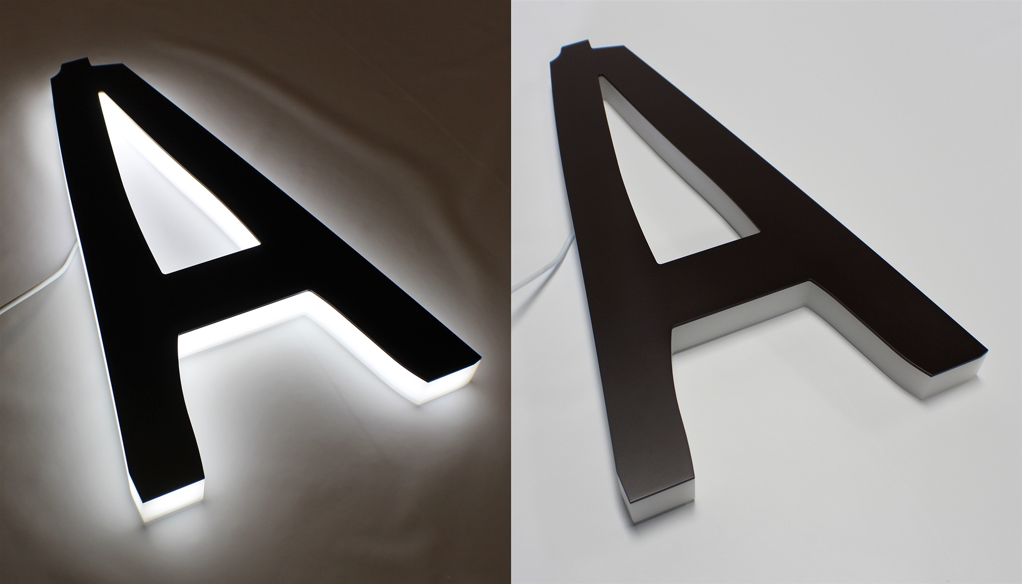 Full Lit 3d Acrylic Letters For Indoor  U0026 Outdoor Signage