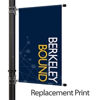 "30"" Pole Banner Replacement Graphics"