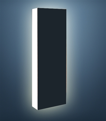 Illuminated 2.5 ft Pop Up Display - Blockout Back