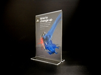 "Acrylic Bottom Loading Display Sign Holder 4"" x 6"""