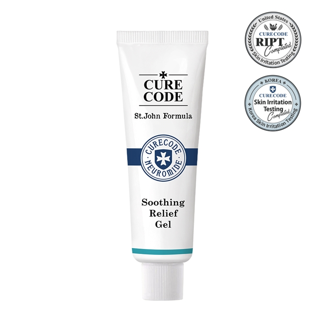 CureCode Soothing Relief Gel