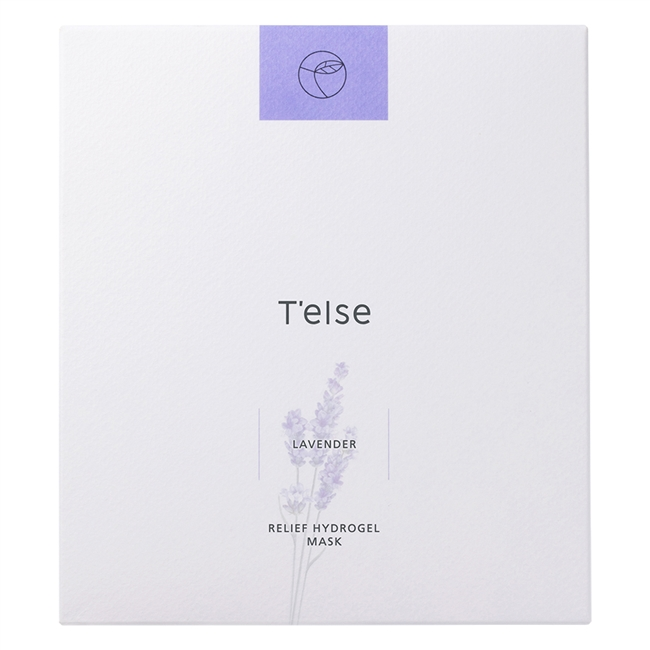 T'else Lavender Relief Hydrogel Mask