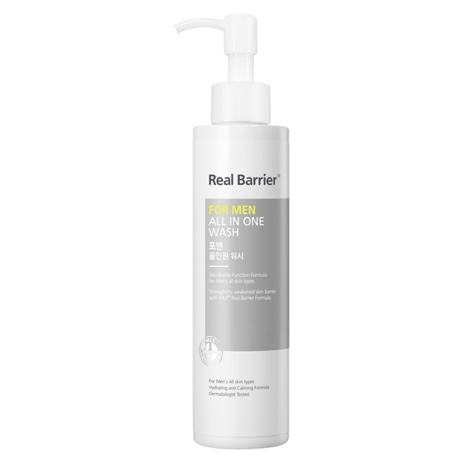 Real Barrier For Men All In One Wash