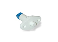 "Quick Switch QS-952T 3/4"" Terminal Connect Steel Door Recess Type Push Button Reed Switch (Closed Loop)"
