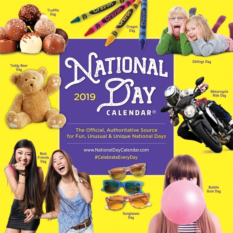 2019 National Day Wall Calendar  Pack