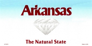 Arkansas Blank License Plate Vinyl Cricut Pazzles