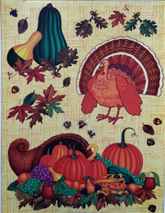 Thanksgiving/Fall Window Clings