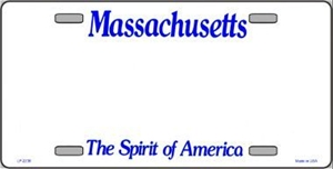 Massachusetts Blank License Plate Vinyl Cricut Pazzles