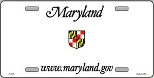 Maryland Blank License Plate Vinyl Cricut Pazzles