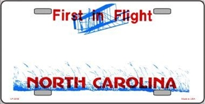 North Carolina Blank License Plate Vinyl Cricut Pazzles