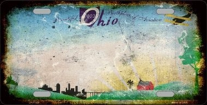 OHIO RUSTY NOVELTY METAL LICENSE